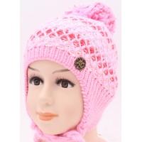 Детская вязаная шапка Радуга D23228-46-50