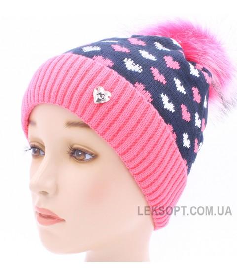 Детская вязаная шапка D44927-48-52