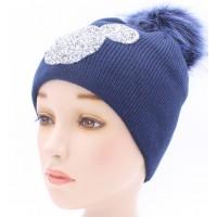 Детская вязаная шапка D46030-48-52