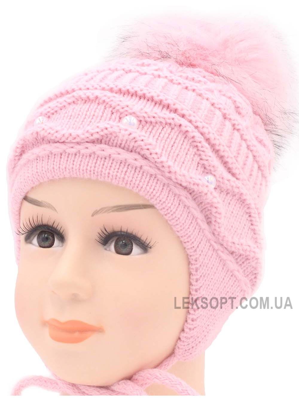 Детская вязаная шапка Синди D46529-44-48