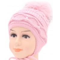 Детская вязаная шапка D46529-44-48
