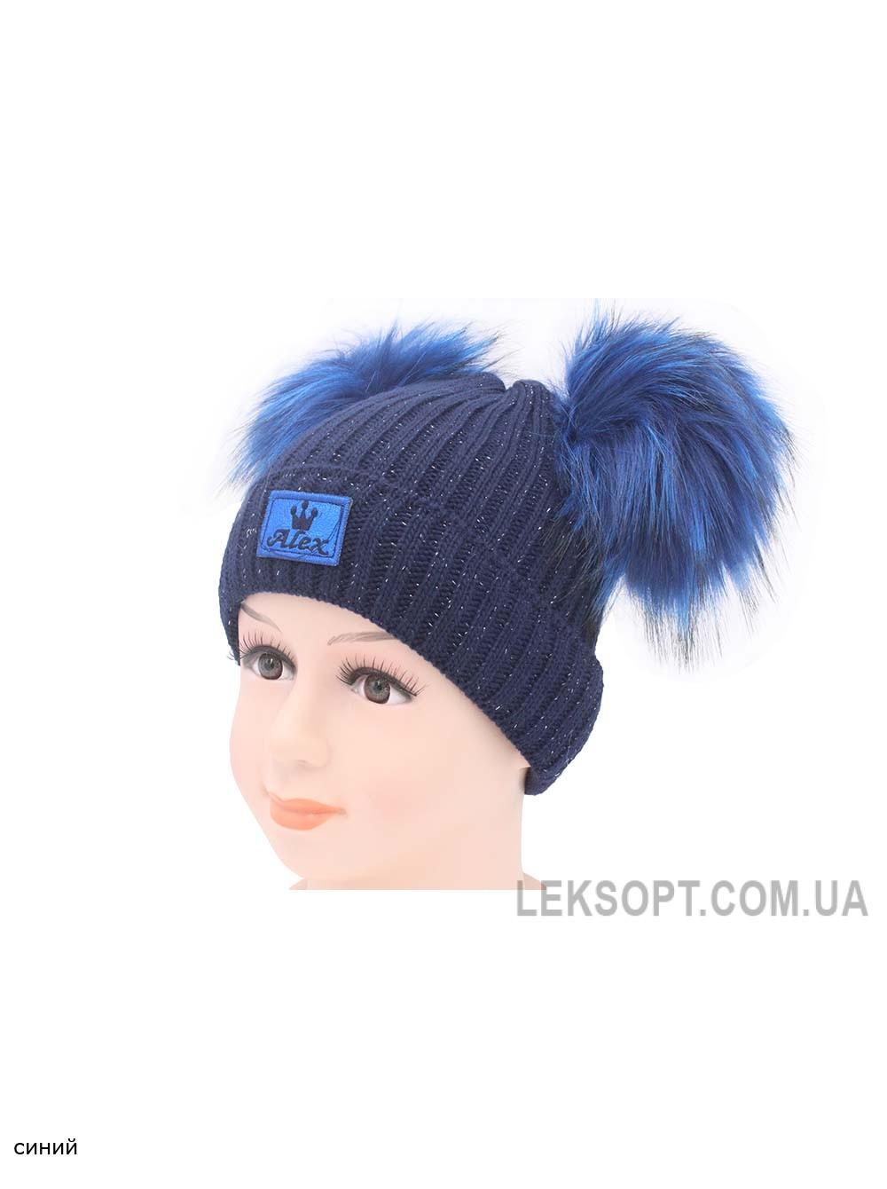 детская вязаная шапка D46829 44 48 купить шапки в интернет