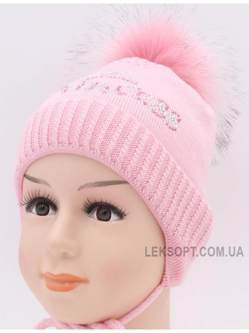 Детская вязаная шапка Малышка D47037-44-48