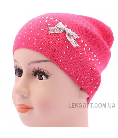 Детская вязаная шапка Кристалл DV1519-48-52