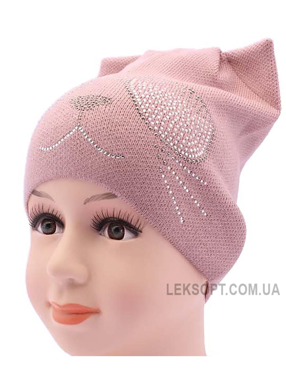 Детская вязаная шапка DV2119-48-52