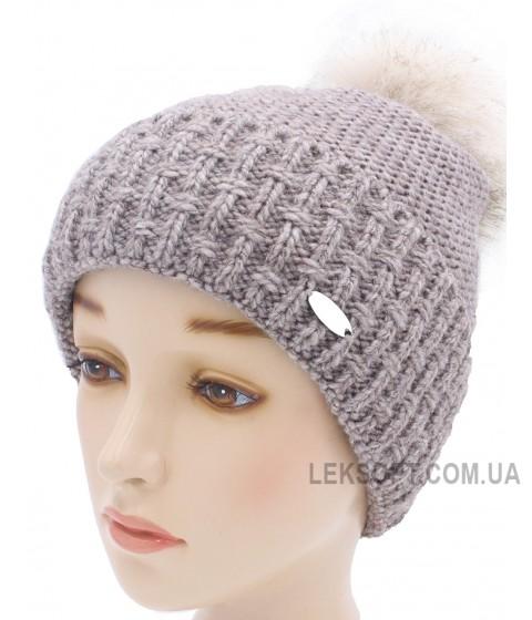 Детская вязаная шапка W21130-50-56