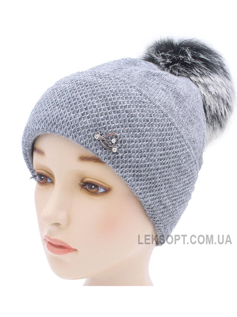 Детская вязаная шапка W22629-52-56