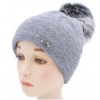 Детская вязаная шапка Эмма W22629-52-56