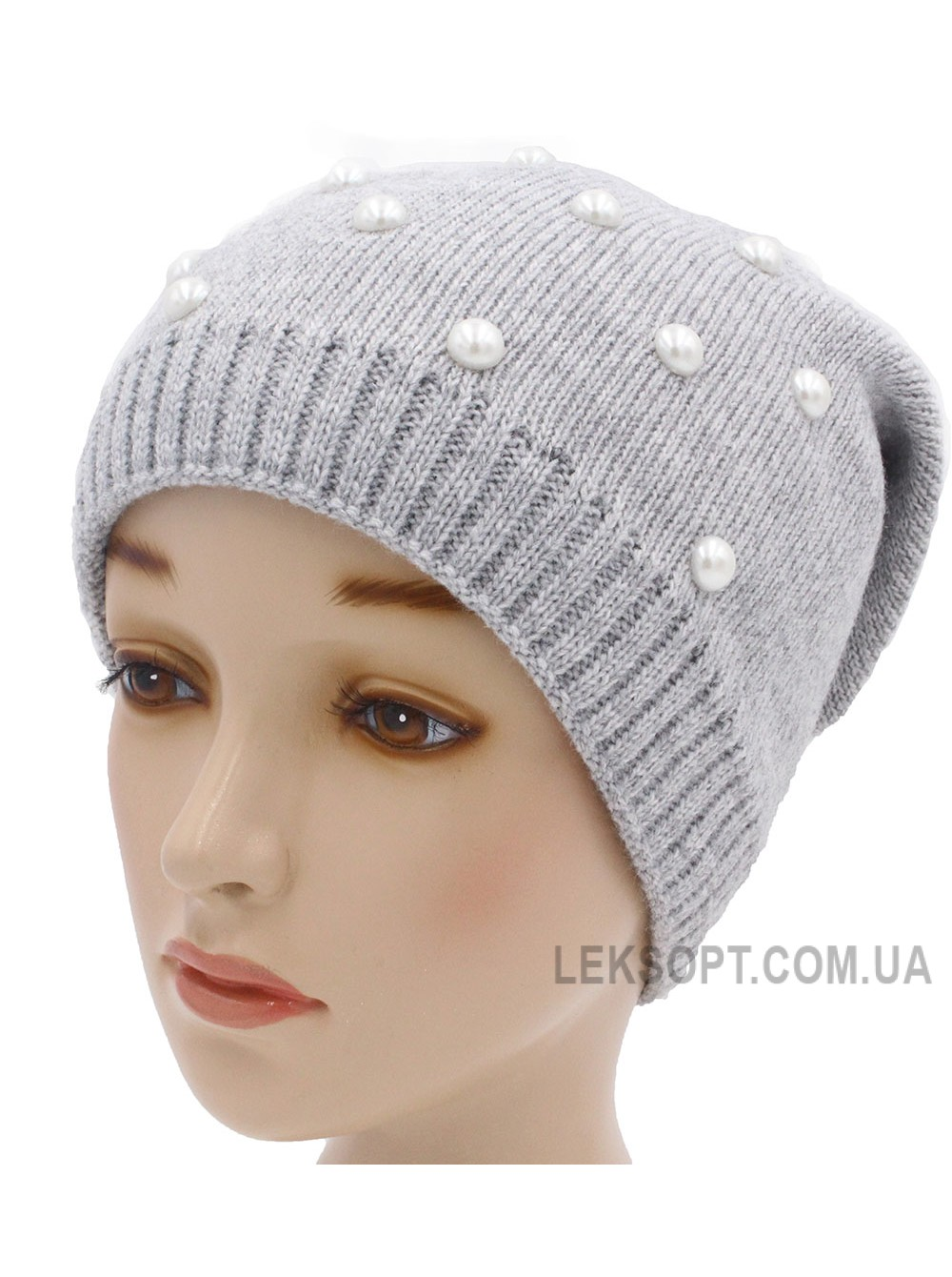 Детская вязаная шапка W23428-52-56