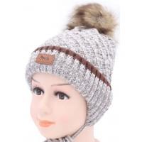 Детская вязаная шапка D40227-44-48