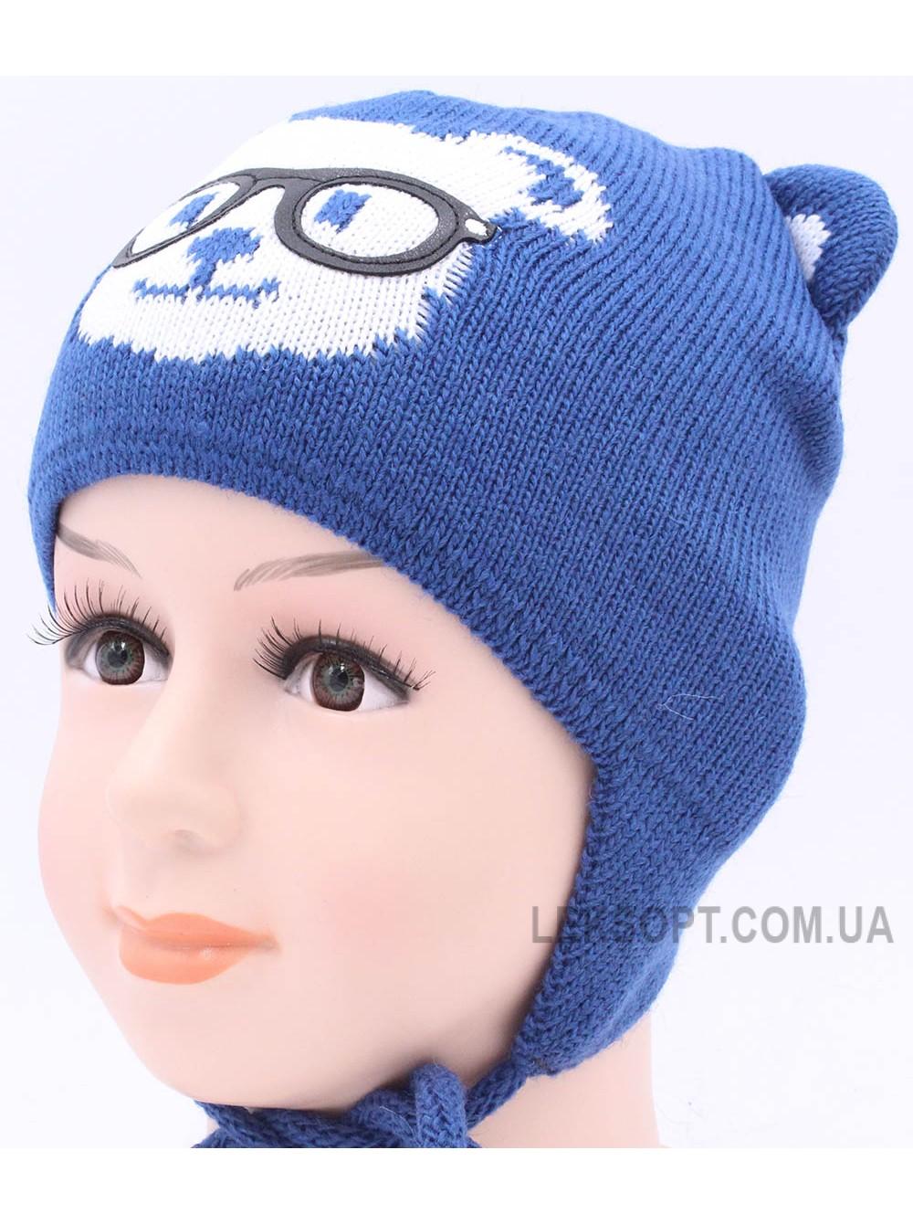 Детская вязаная шапка D40326-46-48
