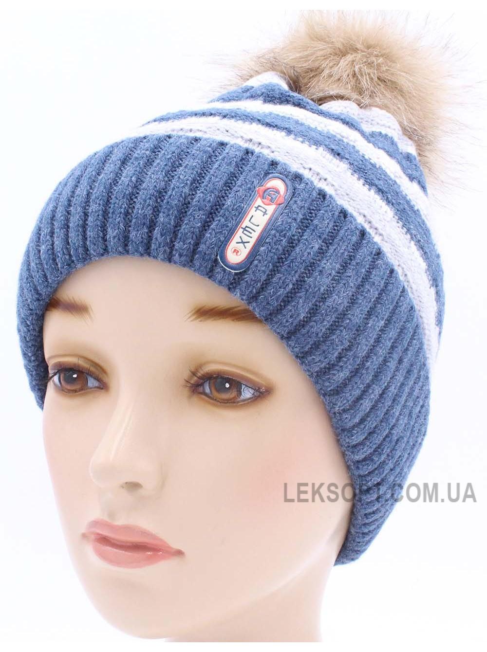Детская вязаная шапка Рокки D41927-50-54