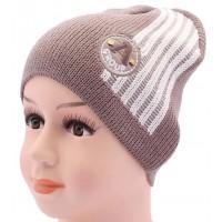 Детская вязаная шапка Линия DV1017-44-48