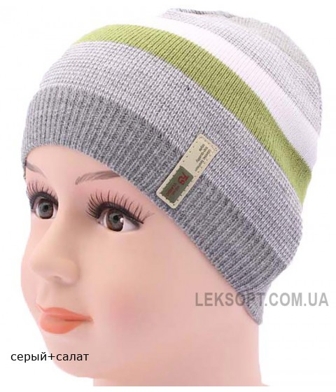 Детская вязаная шапка DV1917-46-50