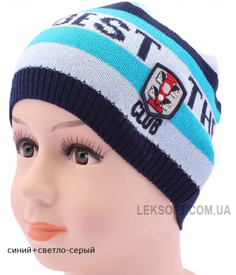 Детская вязаная шапка DV217-46-50