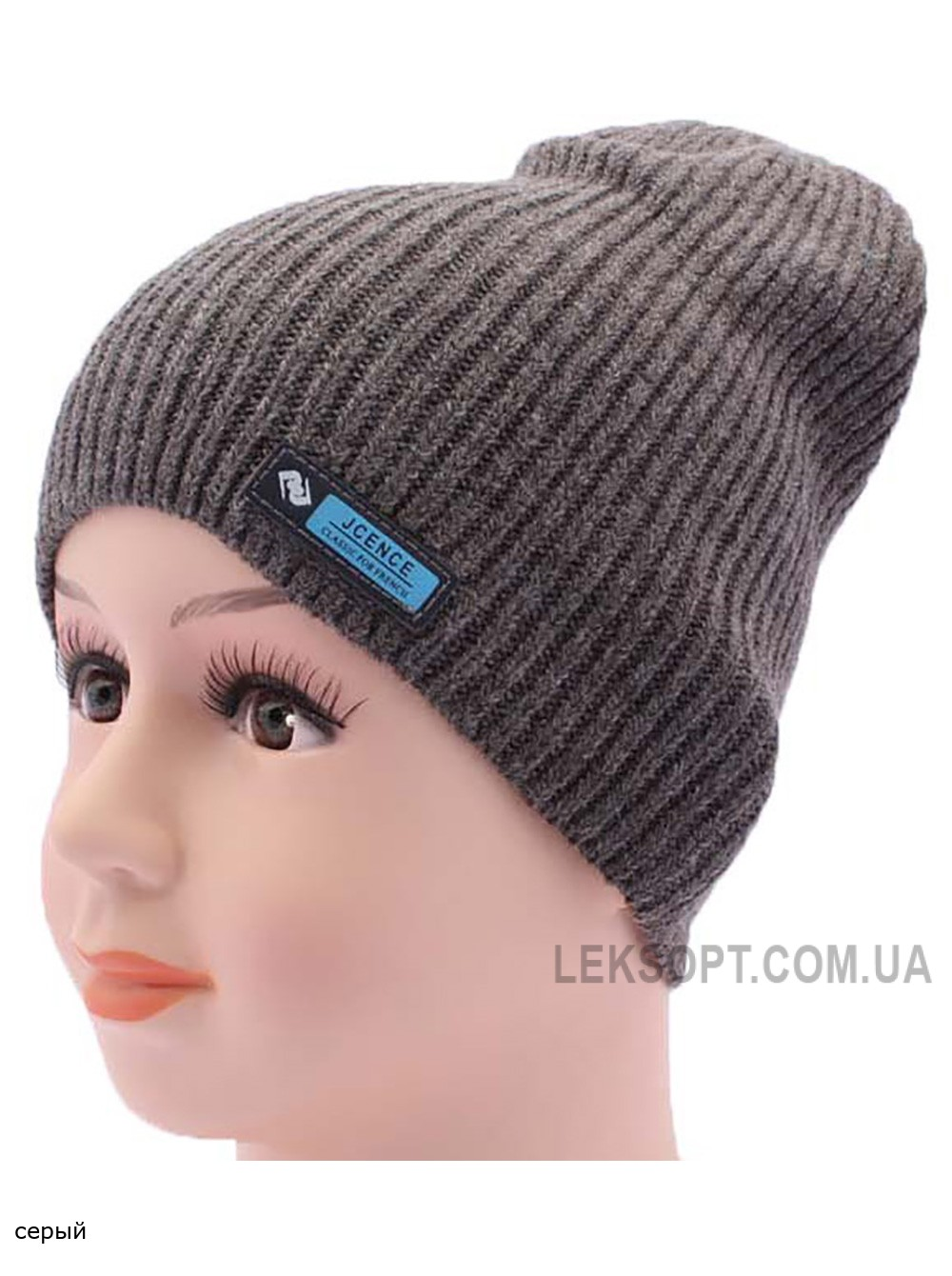 Детская вязаная шапка Классик DV719-46-50