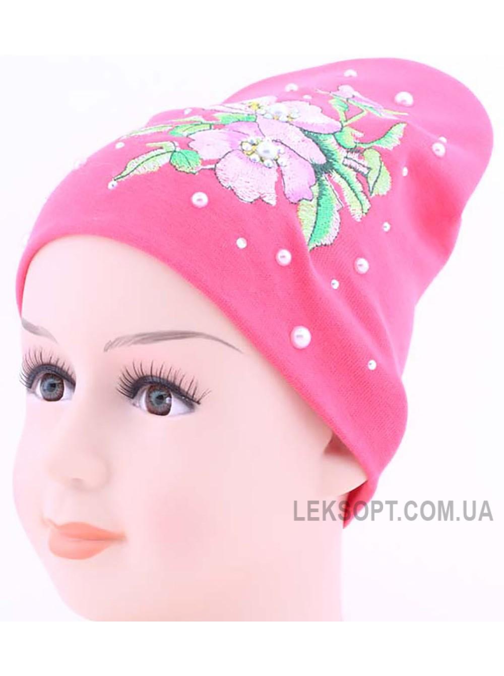 Детская трикотажная шапка Весна