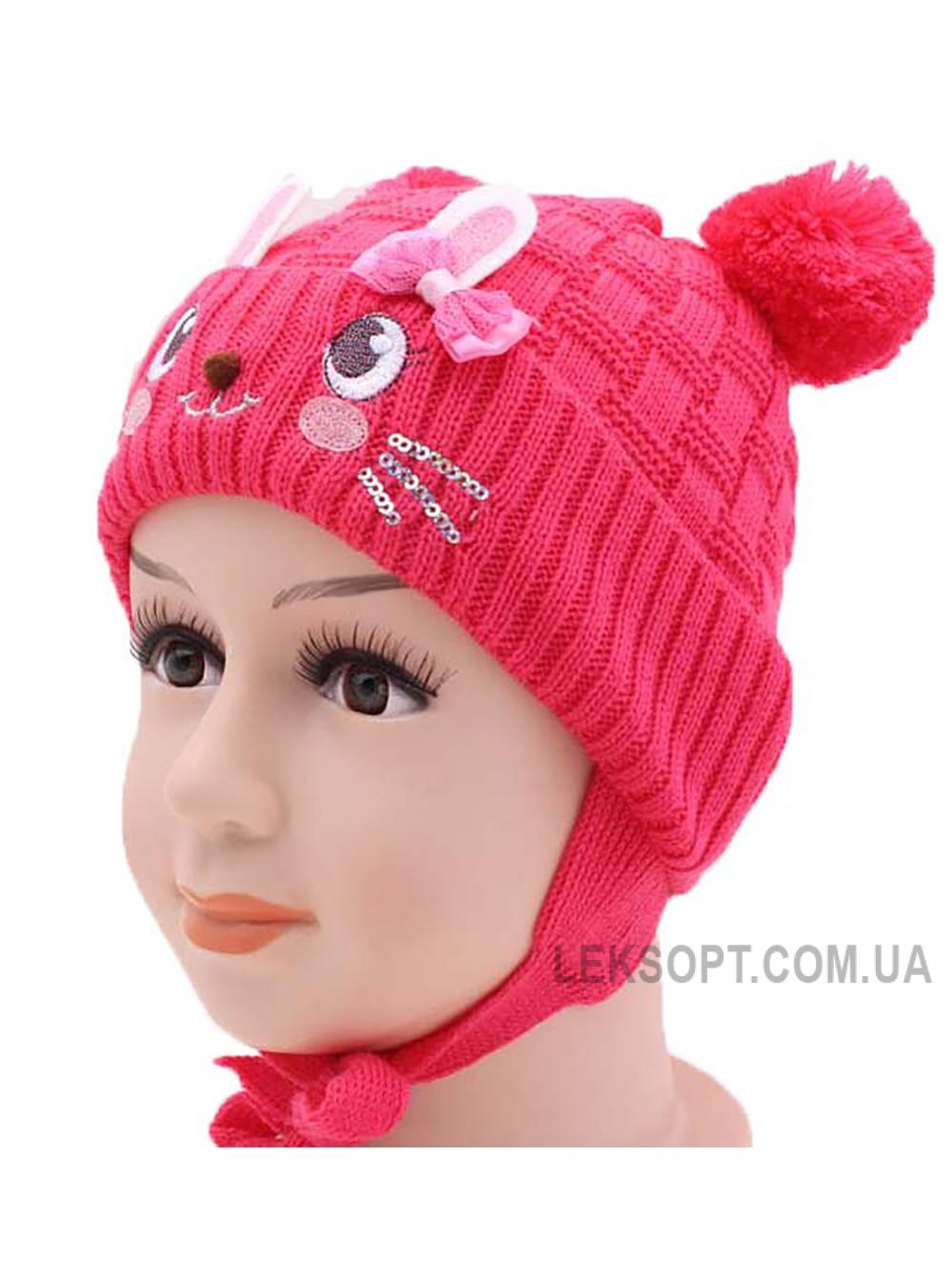 Детская вязаная шапка 116724-44-46