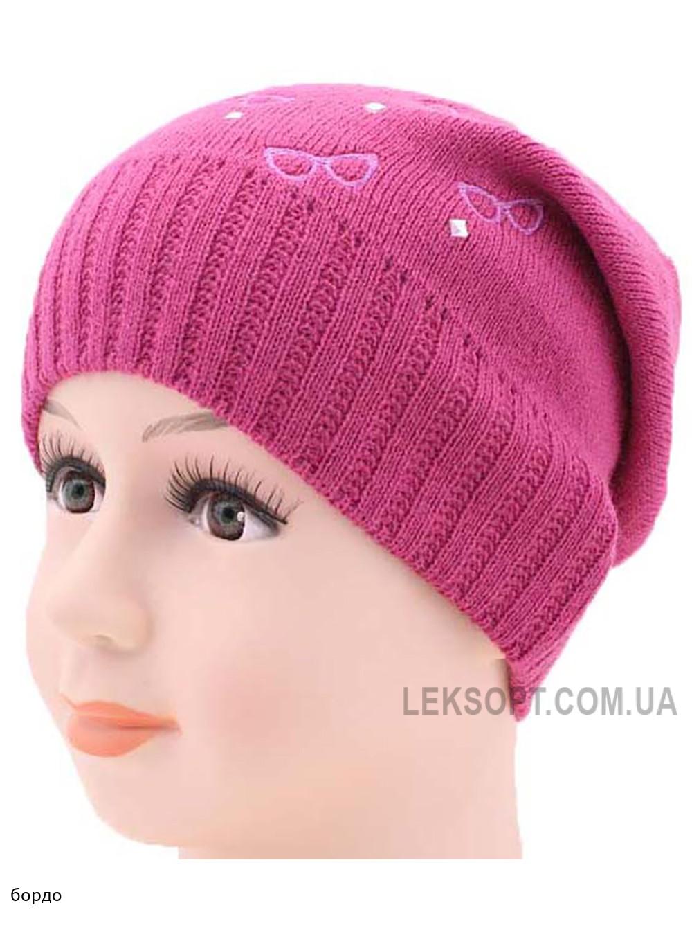 Детская вязаная шапка 128721-50-52