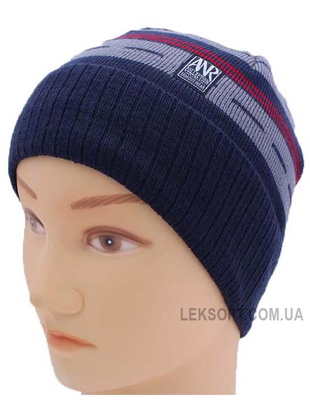 Детская вязаная шапка 118116-52-54