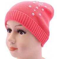 Детская вязаная шапка BVA01810-46-50