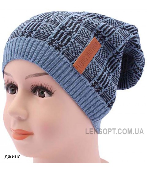 Детская вязаная шапка BVA01210-46-50