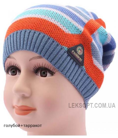 Детская вязаная шапка BVA01610-46-50