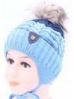 Детская вязаная шапка BVW00427-48-54