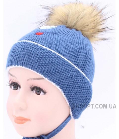 Детская вязаная шапка BVW00624-48-54