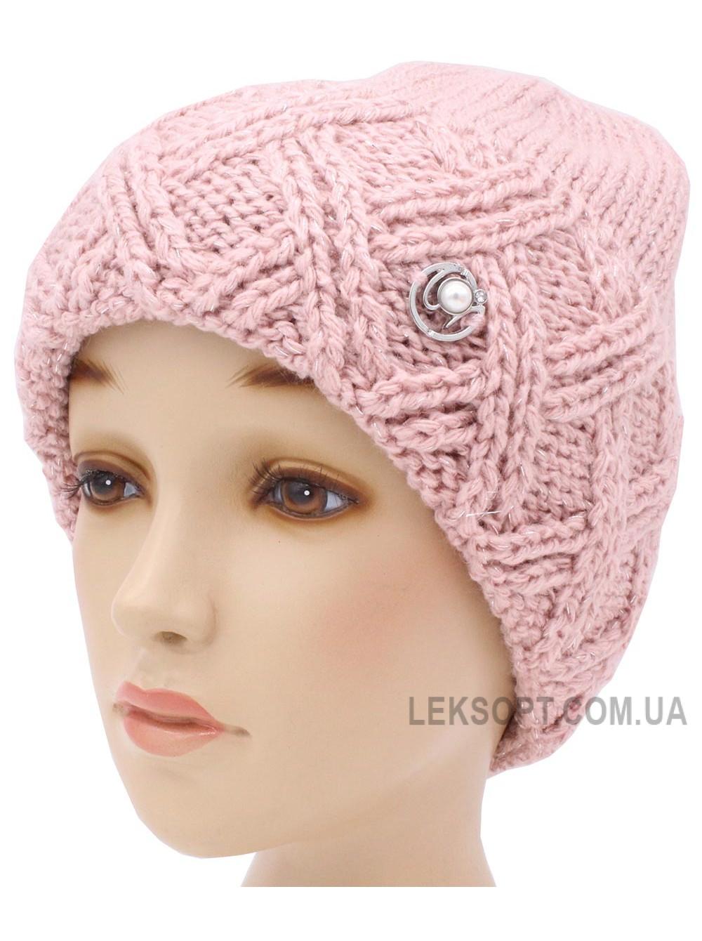 Детская вязаная шапка Барбара W30232-52-56