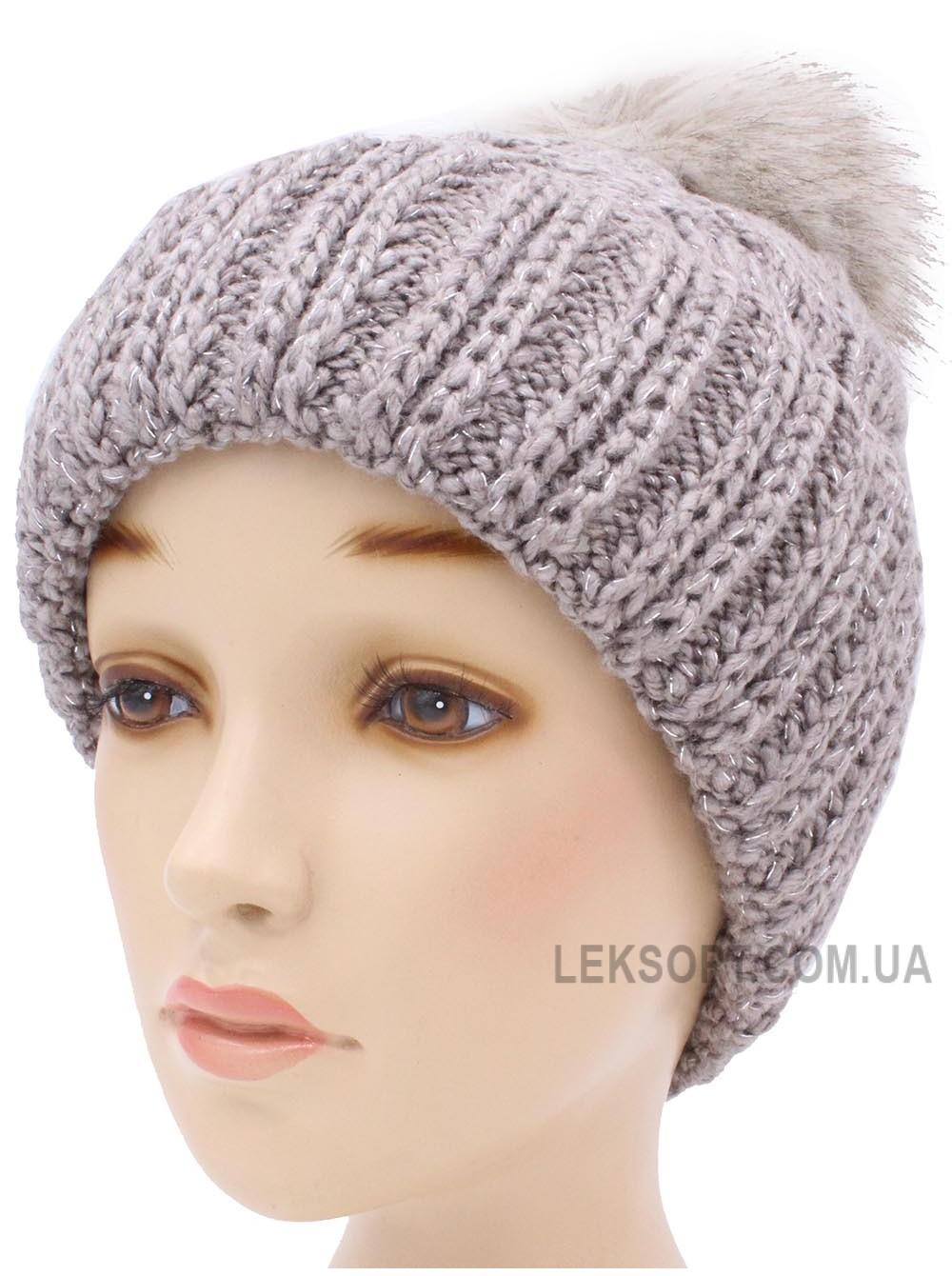Детская вязаная шапка Диана W31536-52-56