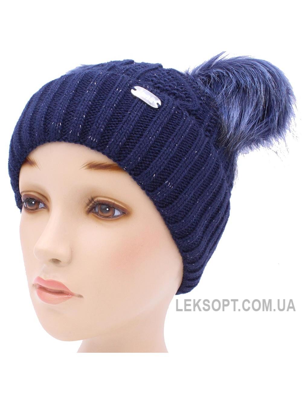 Детская вязаная шапка Милашка D53236-46-50