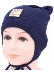 Детская вязаная шапка Минни D58130-44-48