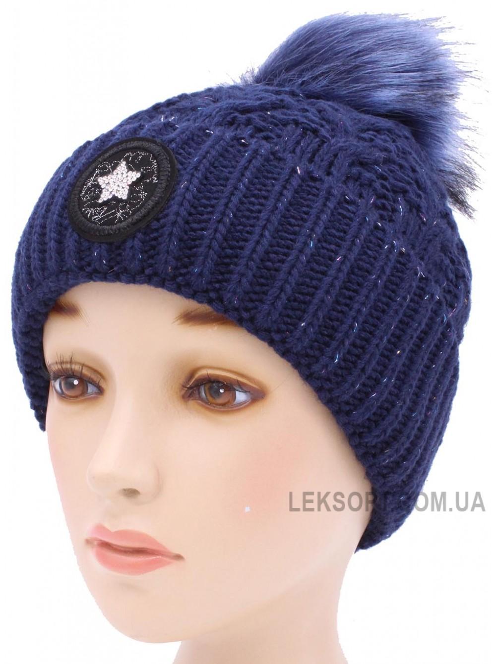 Детская вязаная шапка Мэри D55134-48-52