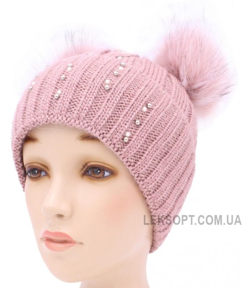 Детская вязаная шапка D95-55-34-54-56