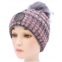 Детская вязаная шапка Бренд D56732-50-56
