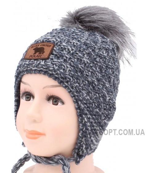 Детская вязаная шапка Малыш D50435-46-50