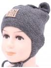 Детская вязаная шапка Микки D58230-44-48