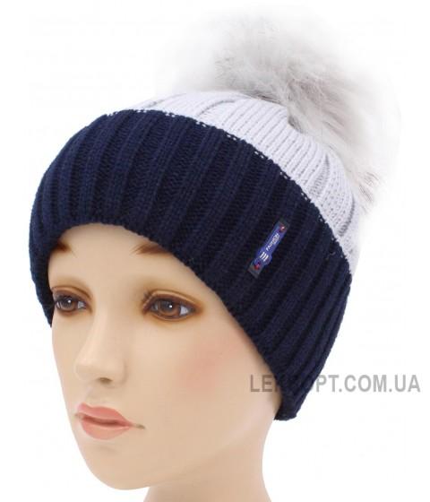Детская вязаная шапка D95-11-28-54-56