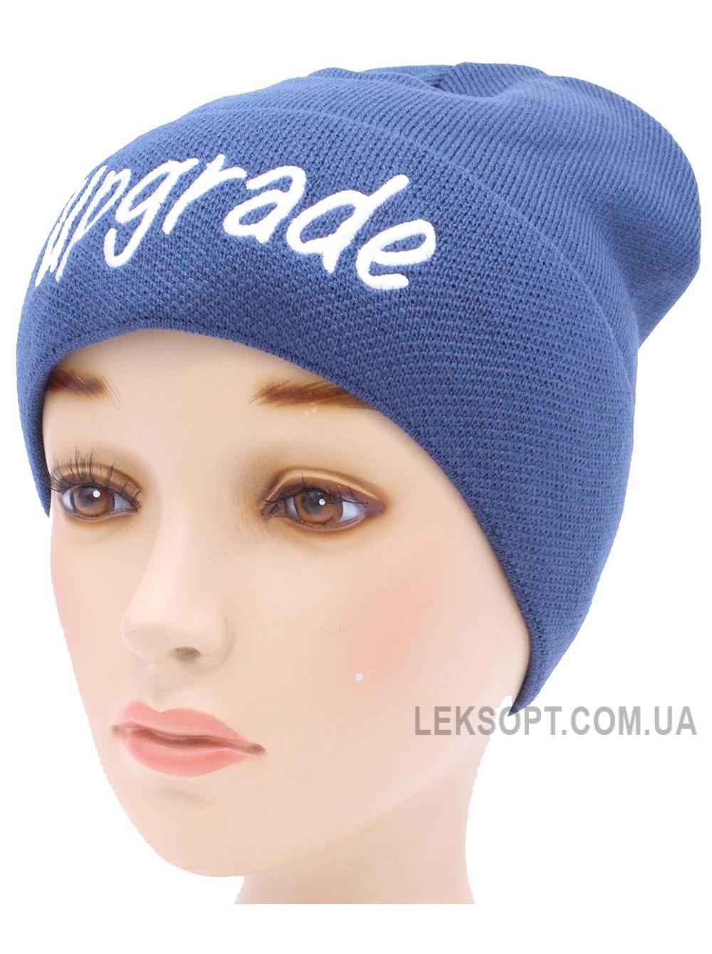 Детская вязаная шапка Апгрейд D55429-50-54