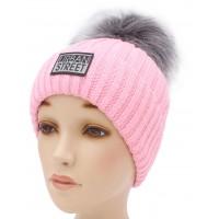 Детская вязаная шапка Стрит D57532-48-52