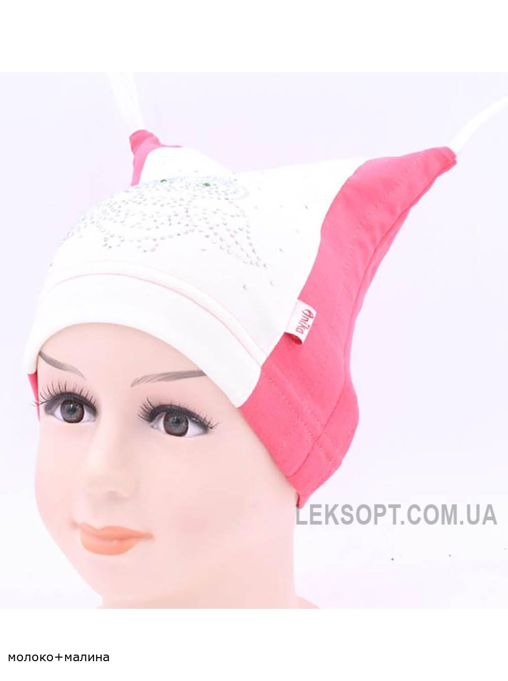 Детская трикотажная шапка Совушка