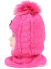 Детский вязаный шлем Шлем Лолита W-5d-51-52-54