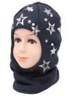 Детский вязаный шлем Элен W-6d-46-48-50