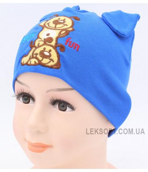 Детская трикотажная шапка Дог