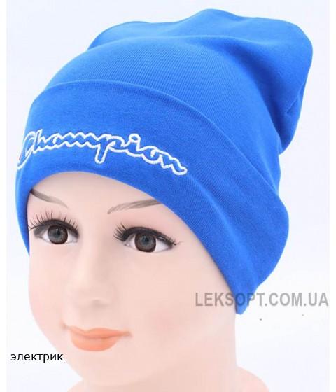 Детская трикотажная шапка Лидер