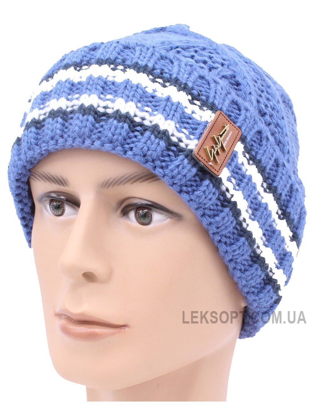 Детская вязаная шапка N13-165-54-56