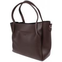 Женская модельная сумка Guess  кожзам  34х27х17 - Gu103-125