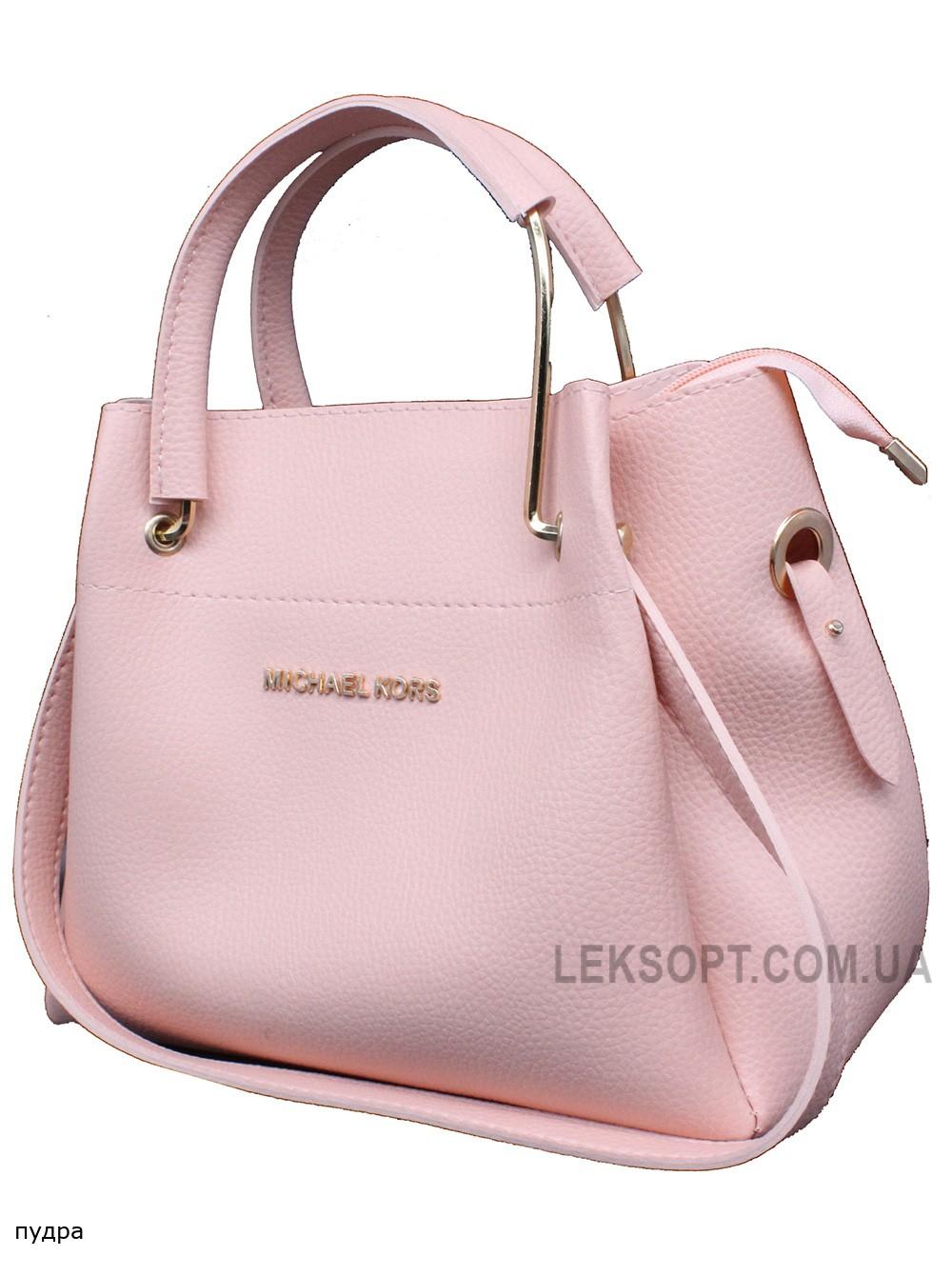 Женская модельная сумка Michael Kors кожзам 28х22х13 - Mi102-104