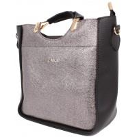 Женская модельная сумка Zara  кожзам  30х24х12 - Za107-117